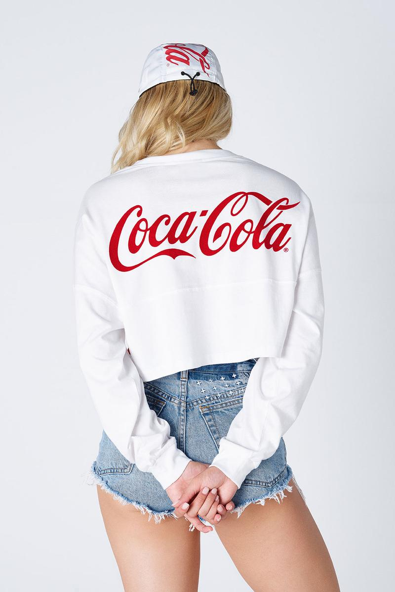 kith coca cola collaboration hawaii womens converse chuck 70 windbreakers t-shirts crop tops bucket hats