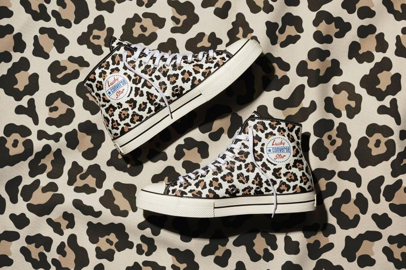 converse jack purcell lucky star womens sneakers animal print archive zebra leopard high low top