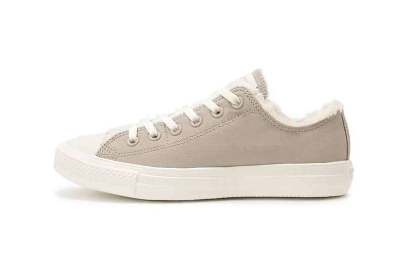 Converse Chuck Taylor All Star Slip Fleece Gray White