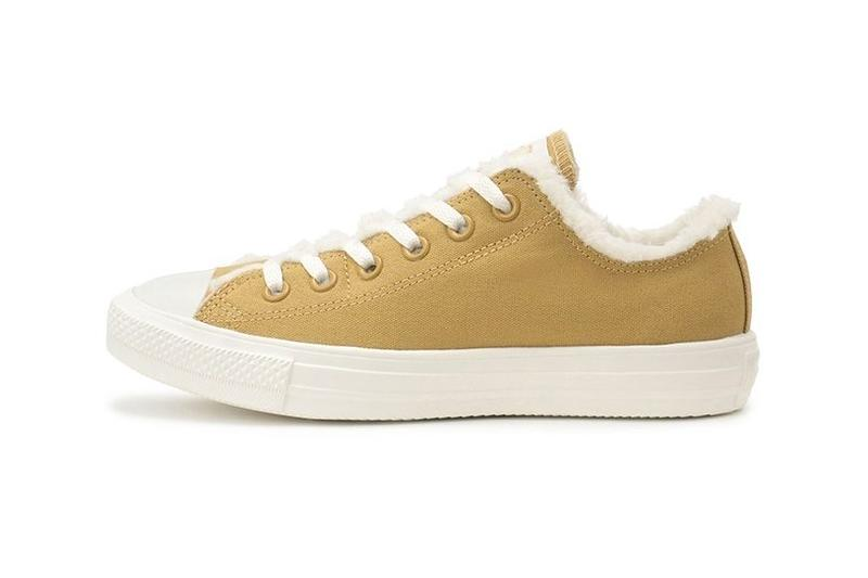 Converse Chuck Taylor All Star Slip Fleece Camel White