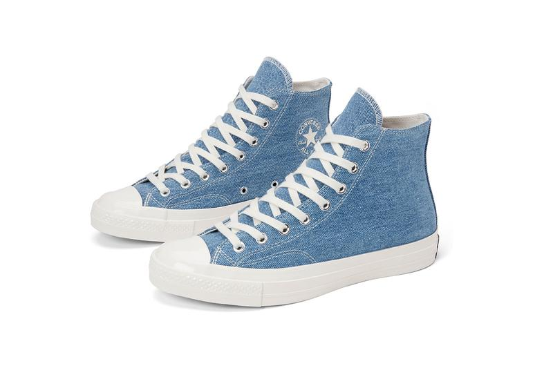 converse renew denim chuck 70s high ox low jeans upcycling sustainability eco-friendly