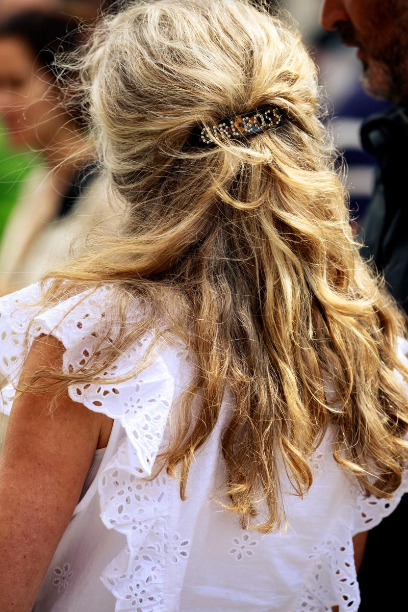 Copenhagen Fashion Week CPHFW Spring Summer 2020 Street Style SS20 Influencer Hair Clip