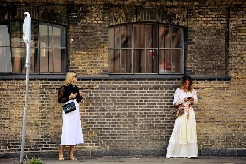 Copenhagen Fashion Week CPHFW Spring Summer 2020 Street Style SS20 Influencers Dior Bags