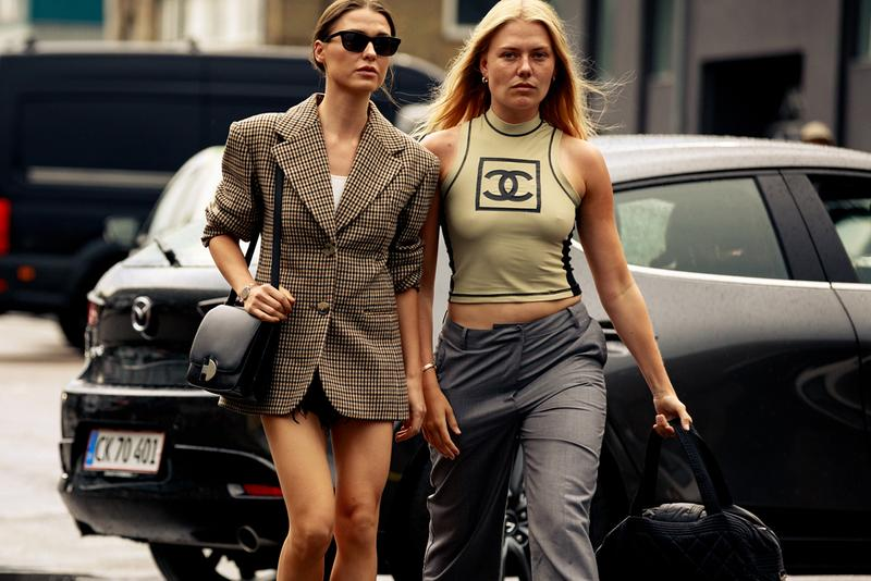 Copenhagen Fashion Week CPHFW Spring Summer 2020 Street Style SS20 Influencers Chanel