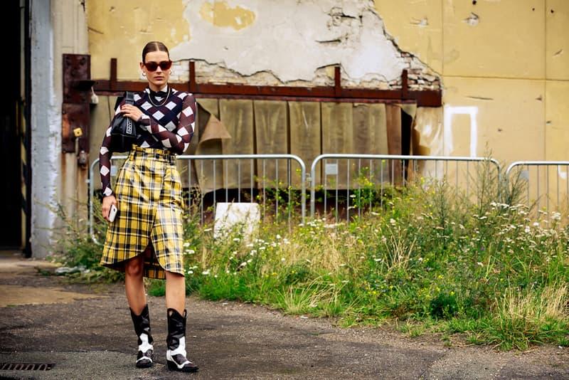 Copenhagen Fashion Week CPHFW Spring Summer 2020 Street Style SS20 Influencer Ganni Cowboy Boots