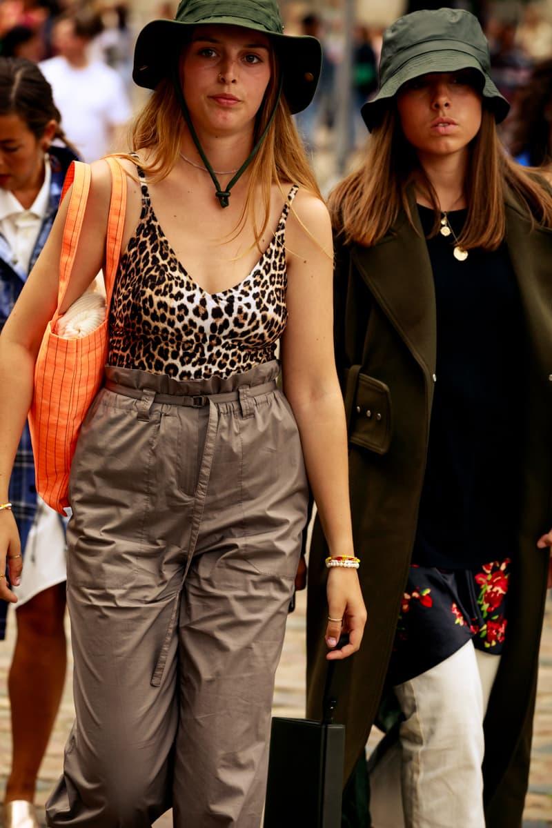 Copenhagen Fashion Week CPHFW Spring Summer 2020 Street Style SS20 Influencers Bucket Hat Leopard Print