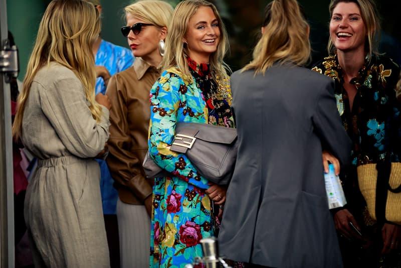 Copenhagen Fashion Week CPHFW Spring Summer 2020 Street Style SS20 Influencers Fendi Baguette