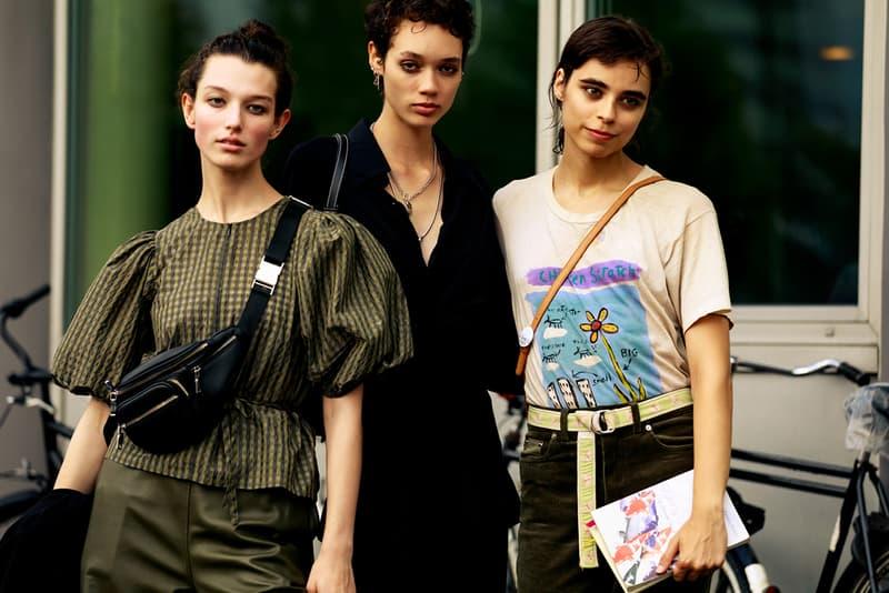 Copenhagen Fashion Week CPHFW Spring Summer 2020 Street Style SS20 Influencers Models Off Duty