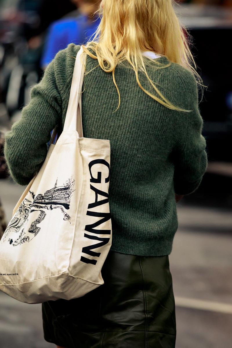 Copenhagen Fashion Week CPHFW Spring Summer 2020 Street Style SS20 Influencer Ganni