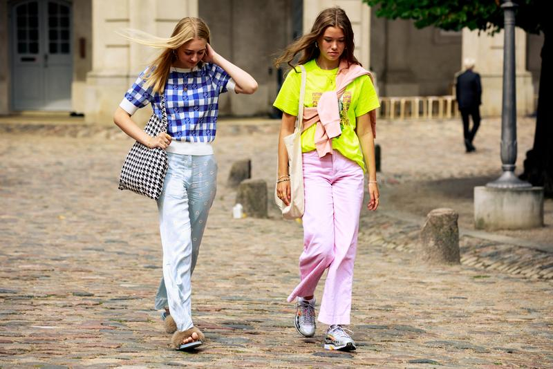 Copenhagen Fashion Week CPHFW Spring Summer 2020 Street Style SS20 Influencers Neon Colors Nike Sneakers