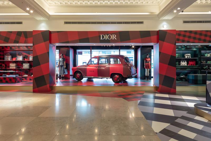 Dior Opens Exclusive Pop-Up Store Harrods London Maria Grazia Chiuri Collection Range Book Tote Limited Edition Release England
