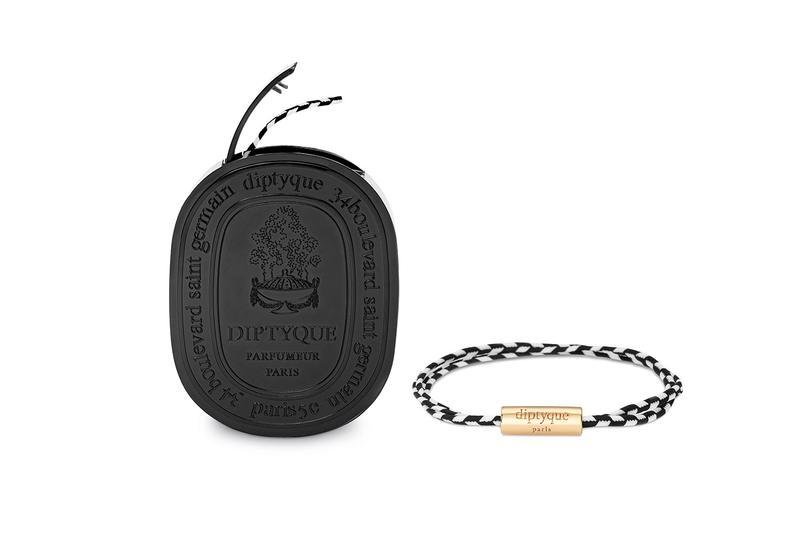 diptyque perfume fragrance prets a parfumer collection scented accessories bracelets brooches stickers