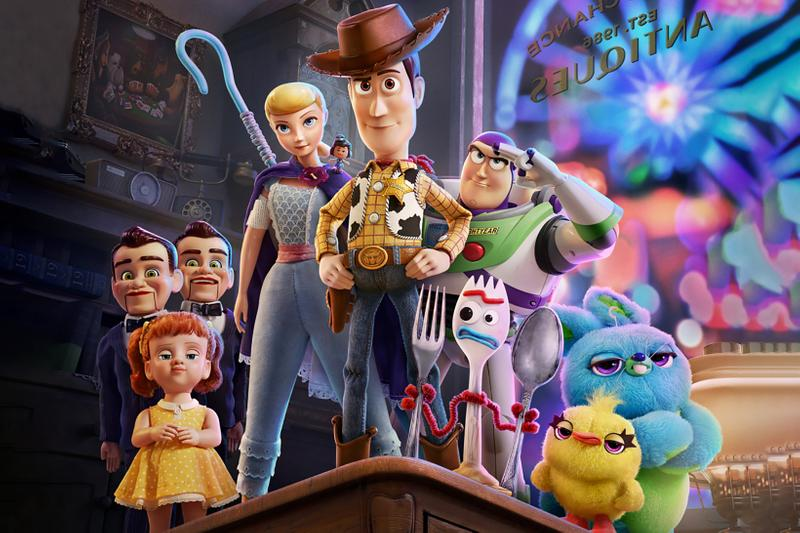 disney pixar toy story 4 woody buzz lightyear forky little bo peep box office record breaking movies films cinema