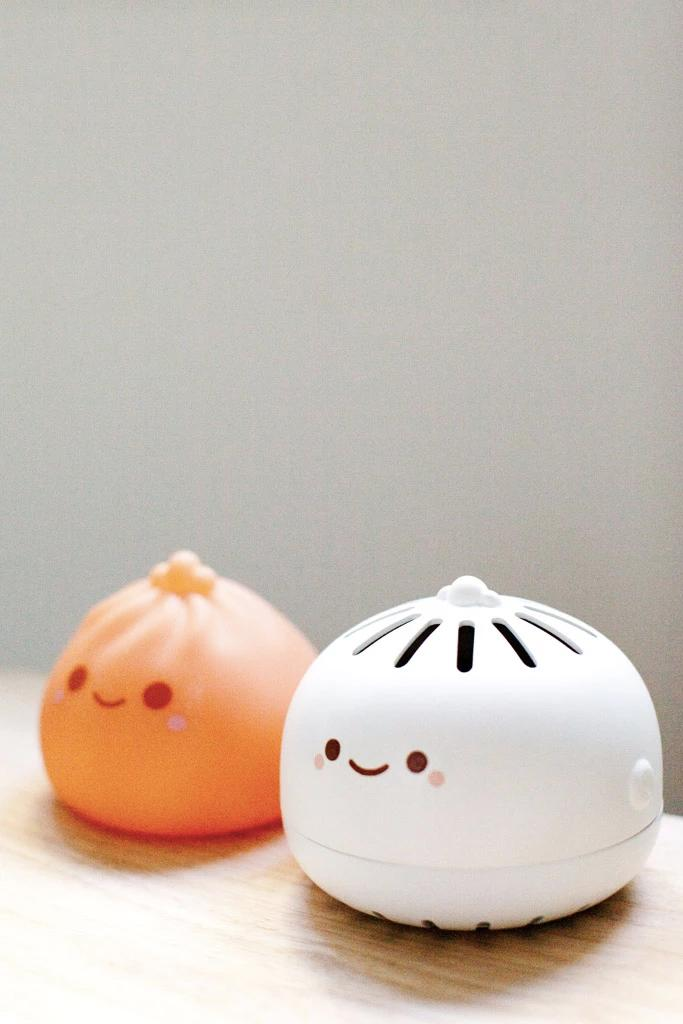 Dumpling Air Purifier Cute Food Home Decor Lamp Adorable Accessory Clean Air Small Gadget