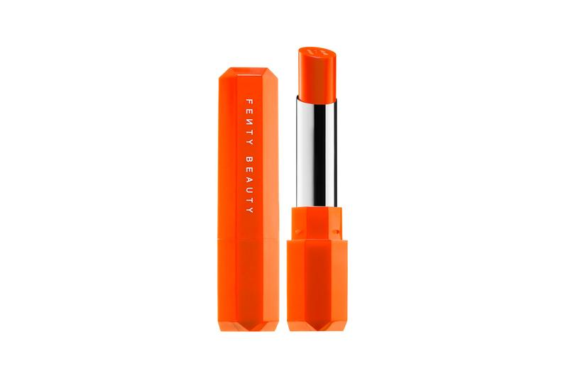 fenty beauty poutsicle limited edition juicy satin lipsticks motorboat sunsnatched electric blue orange