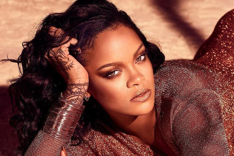 Rihanna Fenty Beauty Campaign Shirt Brown