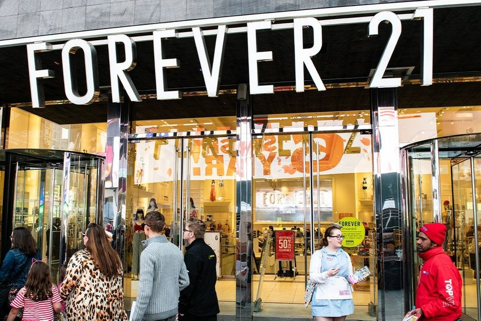 Forever 21 Is Reportedly Preparing to File for Potential Bankruptcy