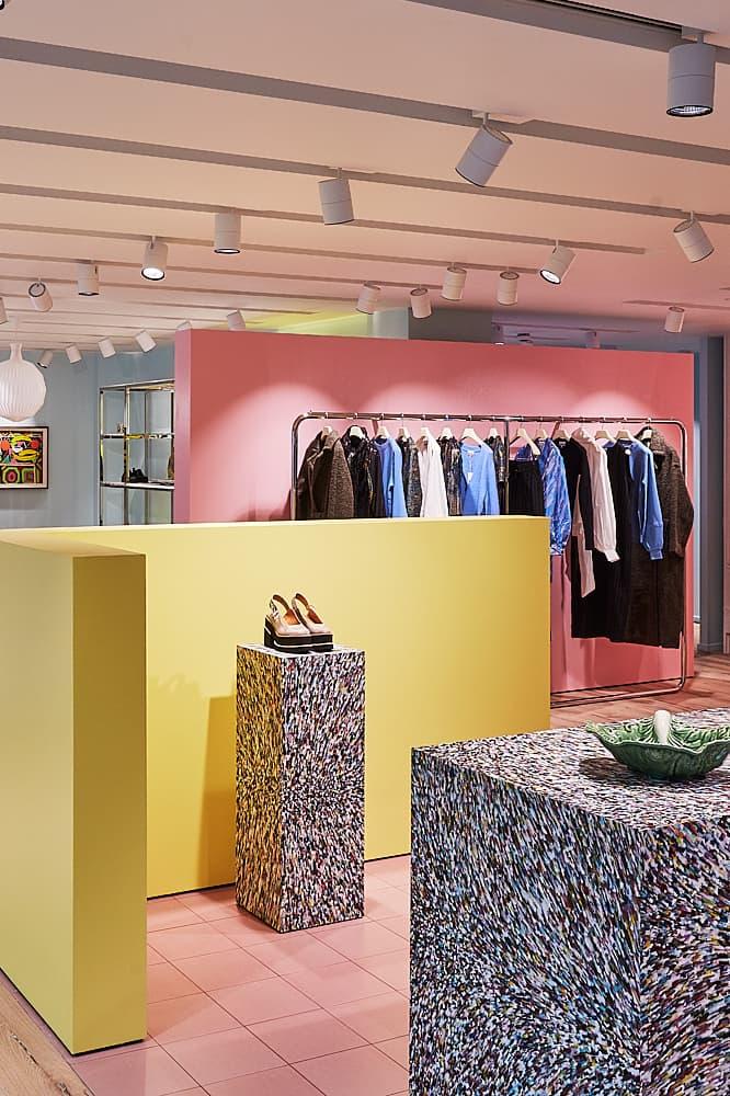 GANNI Opens First Flagship Store in London Soho Area Address Copenhagen Denmark Danish Brand Scandinavian Fashion UK England United Kingdom