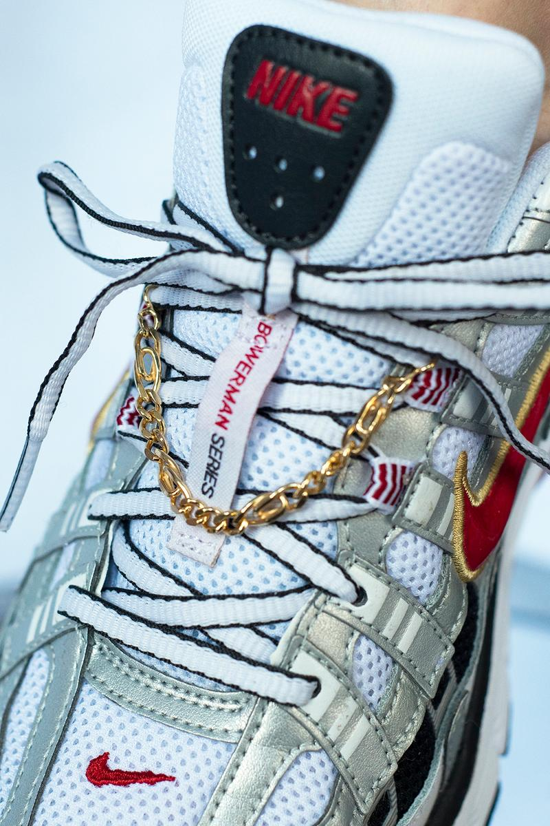girl on kicks jukserei golden girls jewelry collection gold earring necklace ring nike p-6000 sneaker