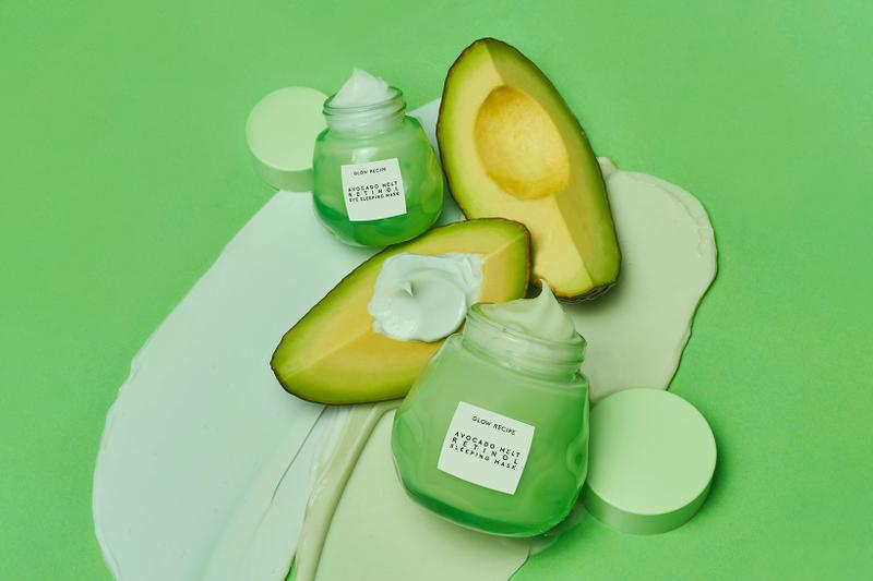 glow recipe avocado melt retinol sleeping eye masks k-beauty sephora hyaluronic acid skincare