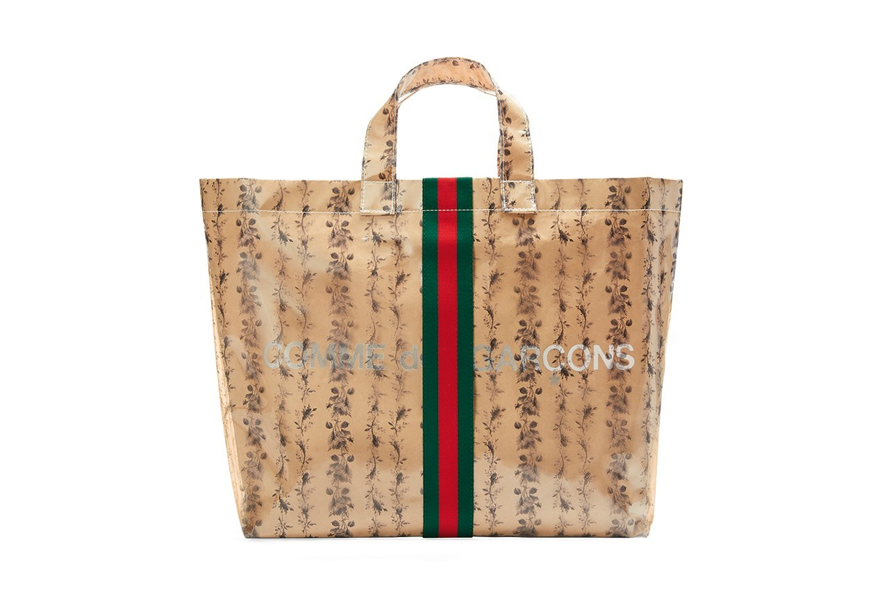 Gucci to Release Tote Bag with COMME des GARÇONS