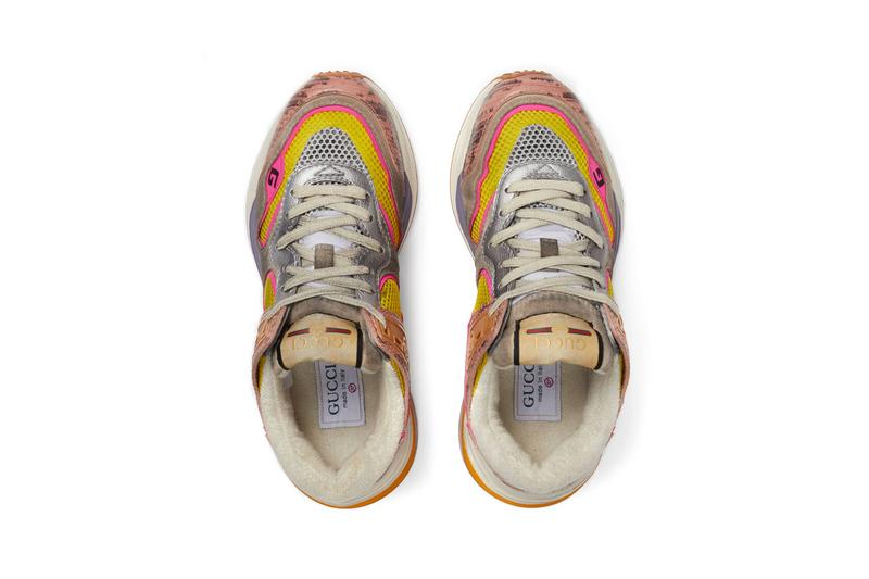 gucci ultrapace womens sneakers tejus print vintage alessandro michele
