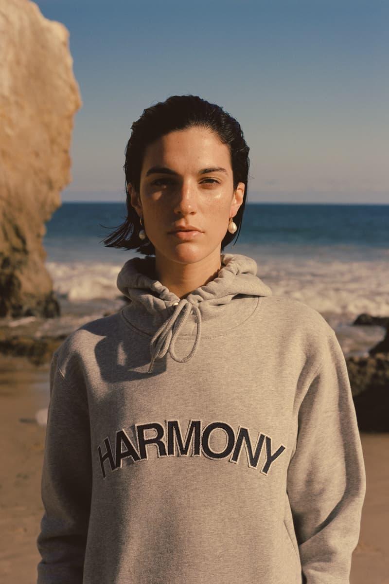 Harmony Paris USA Season 02 Campaign Hoodie Grey