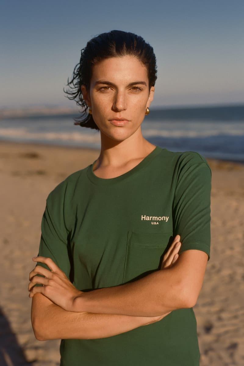 Harmony Paris USA Season 02 Campaign T Shirt Green