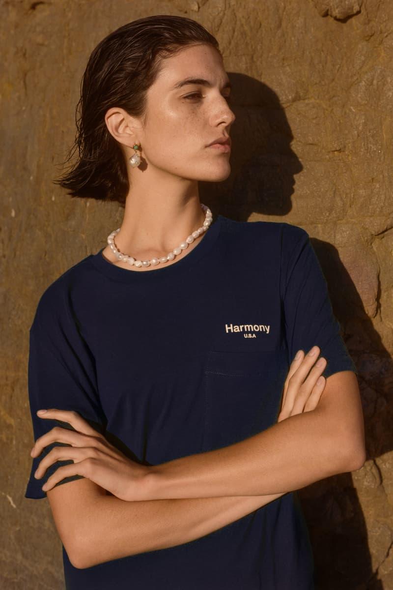 Harmony Paris USA Season 02 Campaign T Shirt Blue
