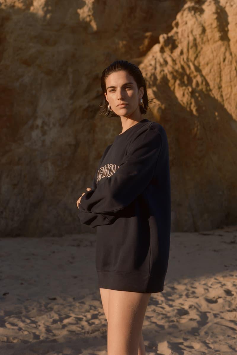 Harmony Paris USA Season 02 Campaign Sweatshirt Black