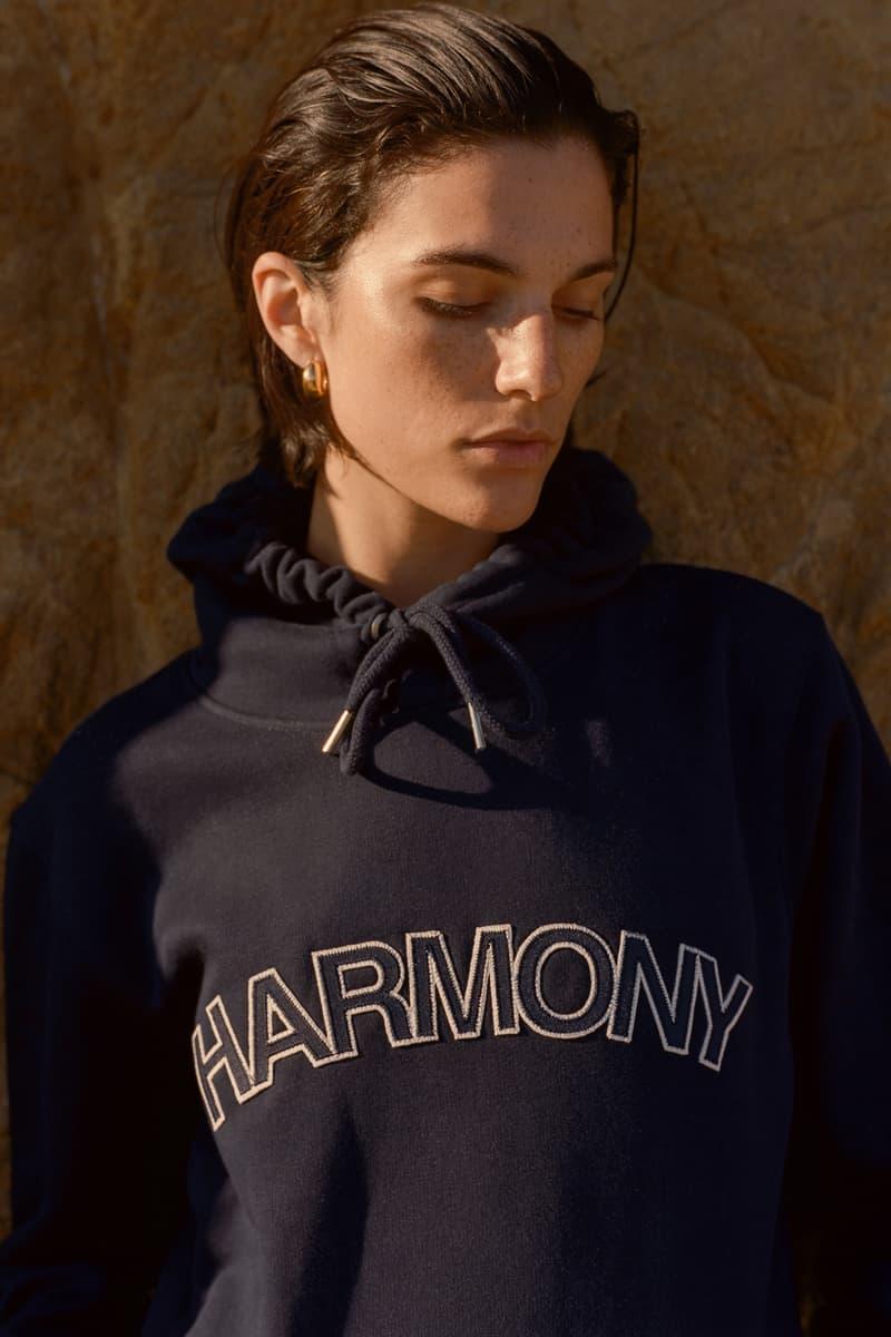 Harmony Paris USA Season 02 Campaign Hoodie Navy