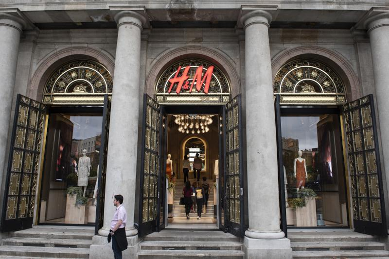H&M Store Sustainability Green Consumer Authority Report Environmentally Friendly Environment Shop Storefront Shopping Fast Fashion Clothing
