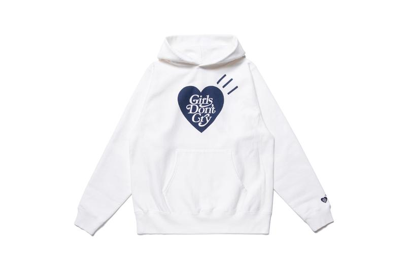 human made girls dont cry collaboration womens streetwear nigo verdy heart hoodies t-shirts caps keychains