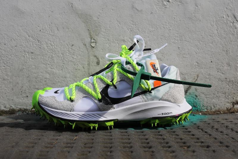 Off-White™ x Nike Zoom Terra Kiger 5 Review Virgil Abloh Sneaker Shoe Trainer Footwear Design Hyped Shoe