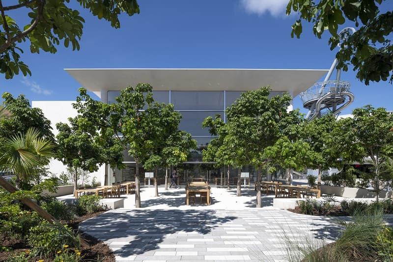 apple miami new store aventura mall jony ive foster partners usa interior design architecture