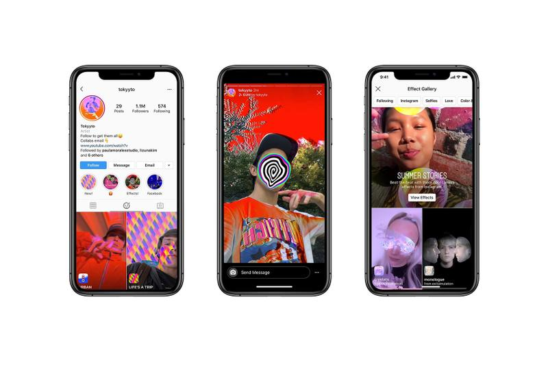 instagram ig stories augmented reality ar phone social media tech technology