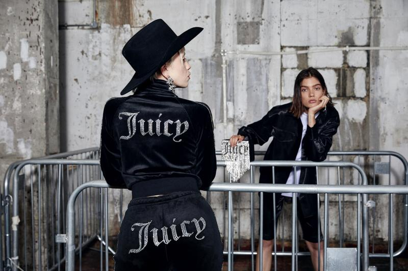 Juicy Couture Spring/Summer 2020 Editorial Collection Tracksuits Aesthetic Elevated New Juicy Suits Rhinestones