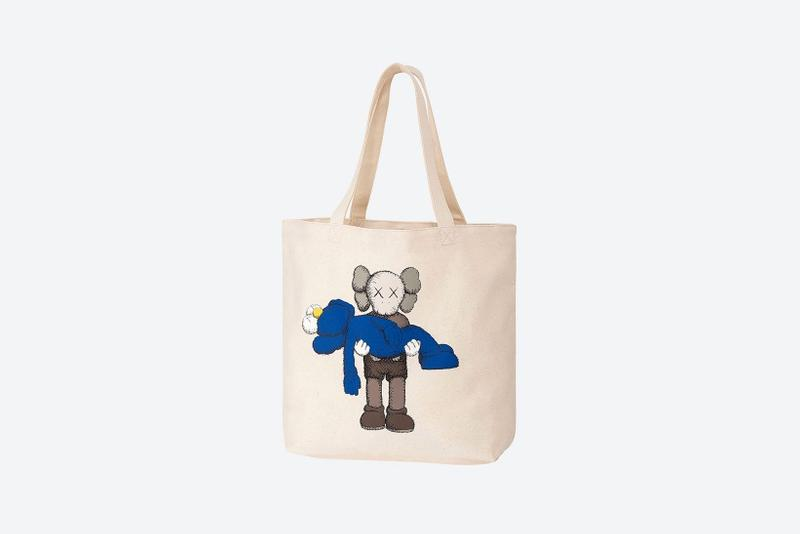 kaws uniqlo ut collection companion bff tshirts tote bags summer re release