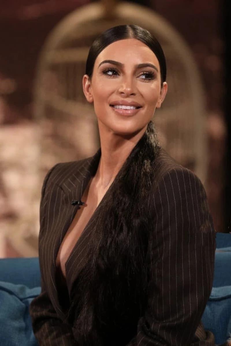 Kim Kardashian Blazer Brown