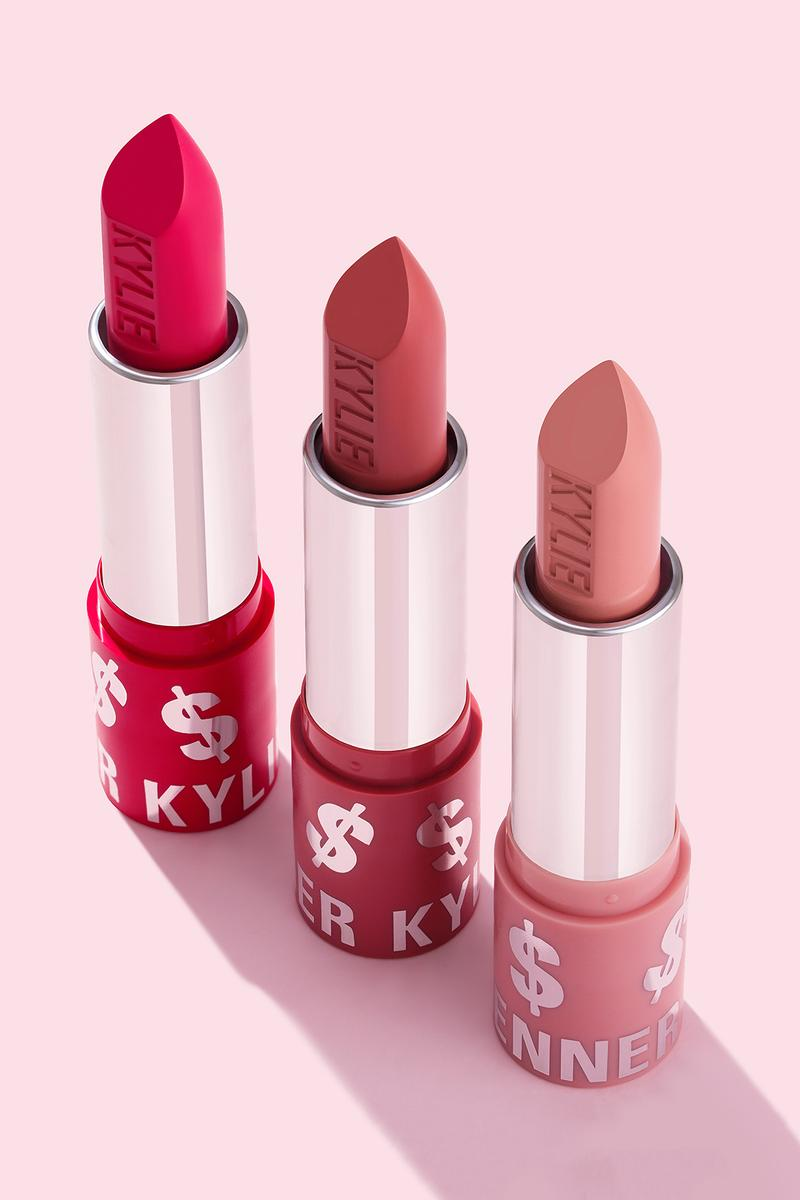 kyle jenner makeup birthday collection lipstick