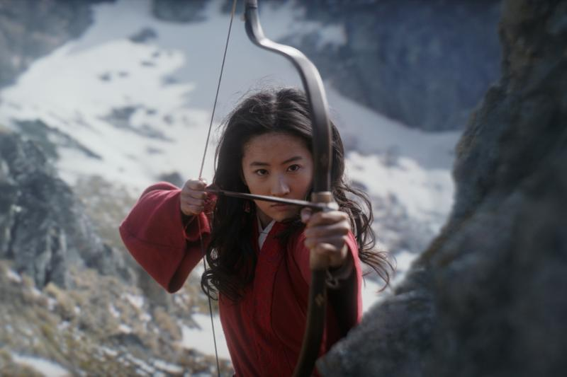 disney mulan live action movie liu yifei princess actress bow and arrow