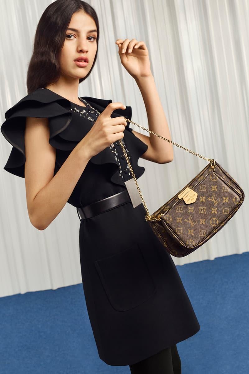 Louis Vuitton Monogram Pochette Cross Body Bag Logo Strap Statement Accessory Luxury Purse Anthony Vaccarello