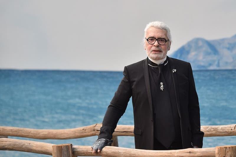 Karl Lagerfeld Paris Fashion Week Spring Summer 2019 Blazer Black Shirt White