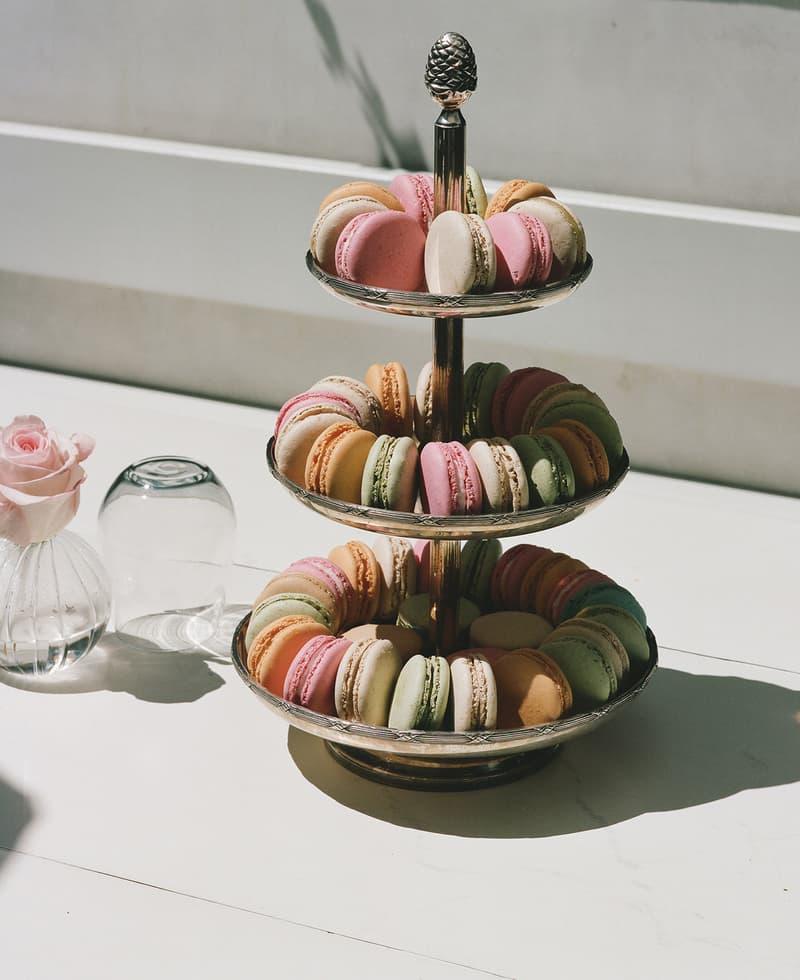mansur gavriel lauderee cafe dessert macarons