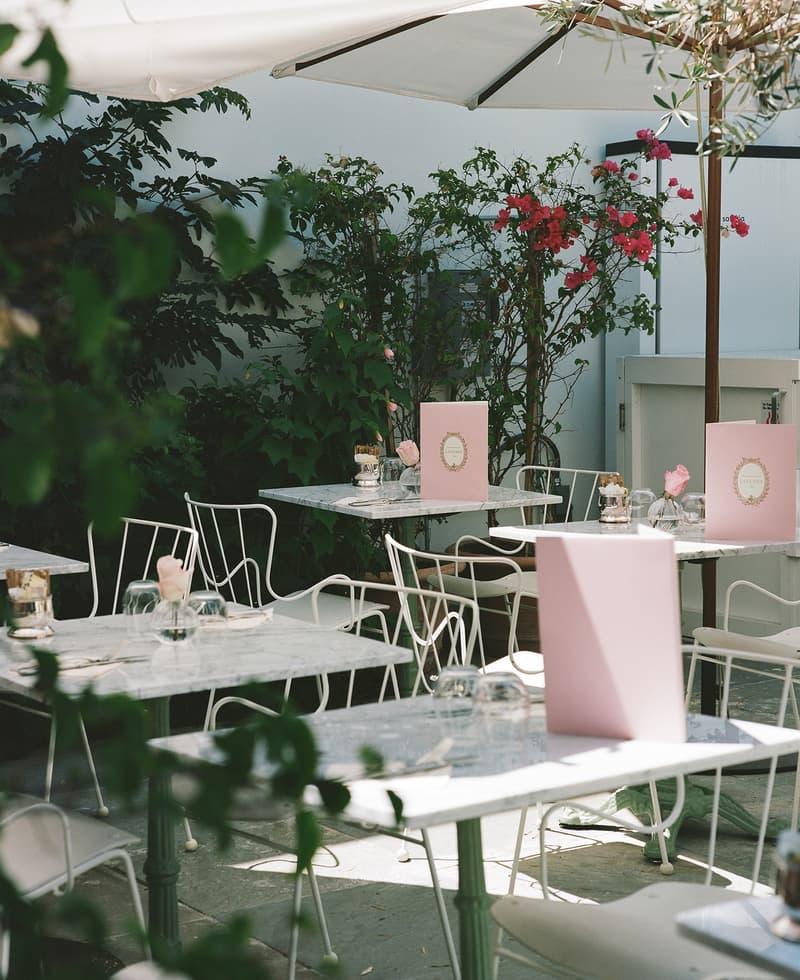 mansur gavriel lauderee cafe dessert interior