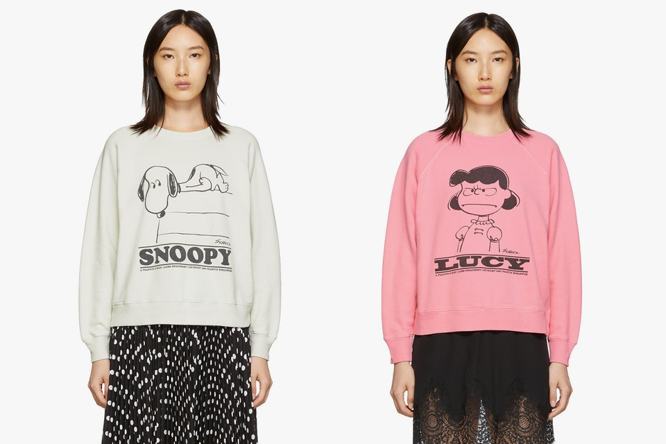 Treat Yourself to the Marc Jacobs x 'Peanuts' Sweatshirts and Sweatpants