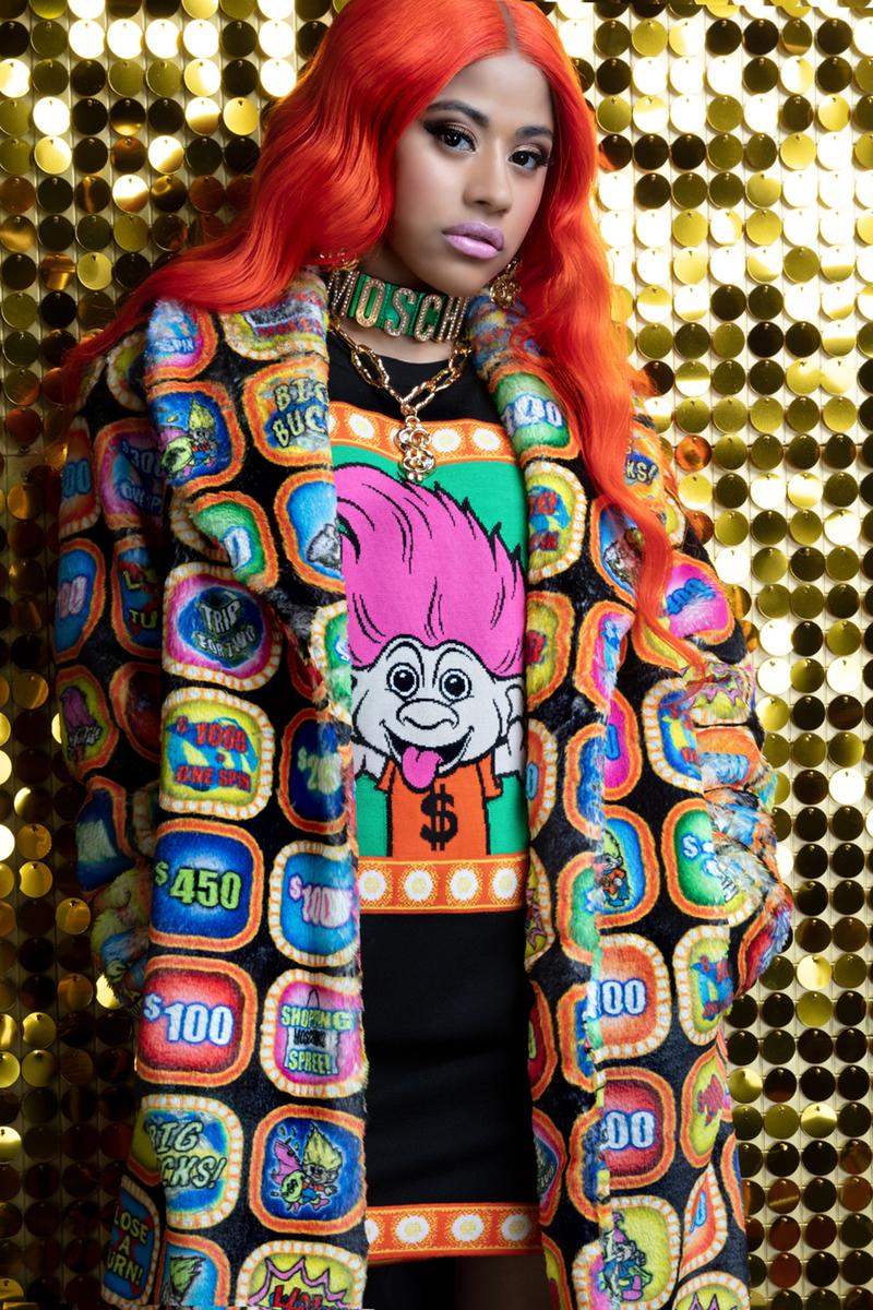 moschino good luck trolls jackets coats shirts sweaters hennessy carolina collaboration