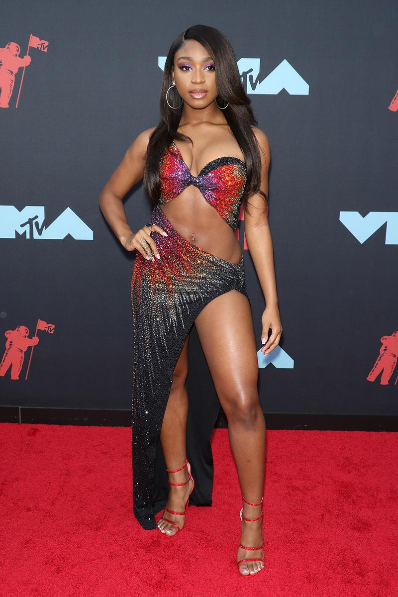 mtv video music awards 2019 red carpet normani