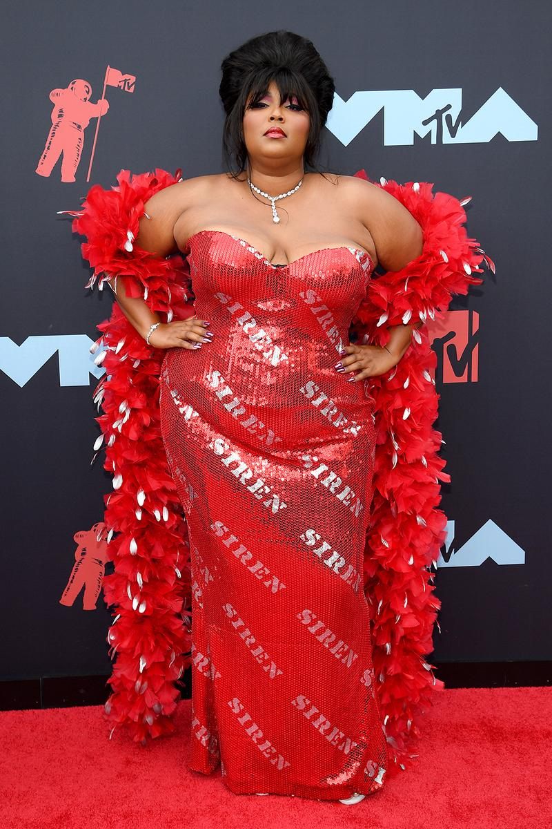 mtv video music awards 2019 red carpet lizzo