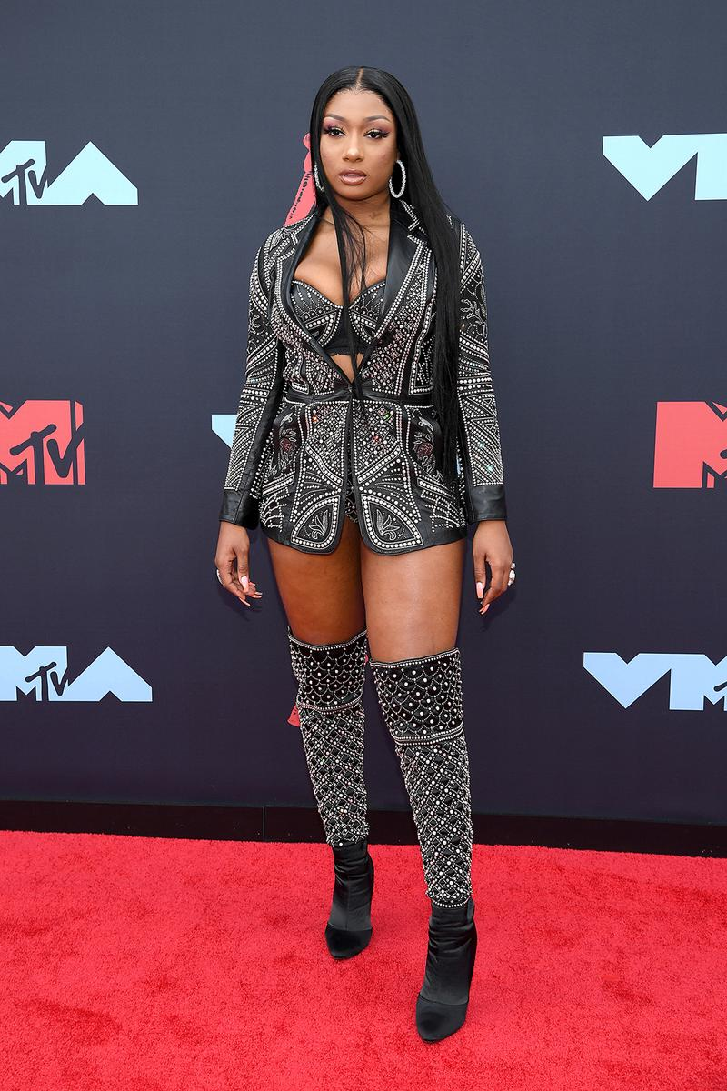 mtv video music awards 2019 red carpet megan thee stallion